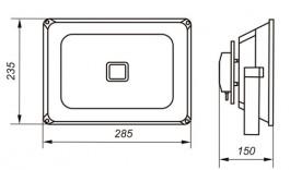 Светодиодные промышленные прожектора OSF50-10 54Вт IP66 5000Лм NLCO «Новый Свет» (Рязань)