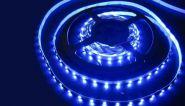 Светодиодная лента SMD-3528 12V, 300 LED, IP 20, 4.8 Вт/м, синий