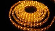 Светодиодная лента SMD-3528, 12v, 600 LED, IP 65, 9.6 Вт/м, желтый