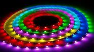 Светодиодная лента SMD-5050, 24v,600 LED, IP 20, 28,8 Вт/м, RGB