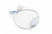 Шнур питания для ленты 220В PC-LT4