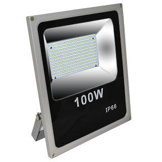 Светодиодный прожектор SLIM 100Вт, 10000Лм (повышенной яркости)