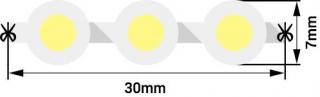 Светодиодная лента DIP-96-12-7.7-B-68