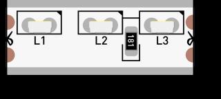 Светодиодная лента SWG315120-12-9.6-W