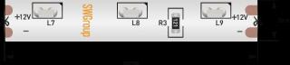 Светодиодная лента SWG31560-12-4.8-WW-67