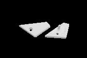 Заглушки для профиля LG2814-ECS, 2 шт